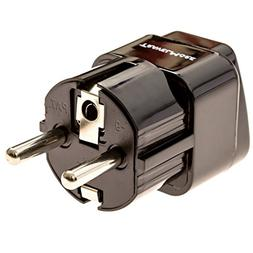 Europe Travel Adapter For European Outlets - Type C, Type E,