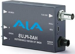 AJA HA5-Plus HDMI to 3G-SDI Mini-Converter, Supports 8 Ch of