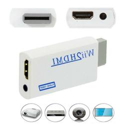 HD Wii To HDMI 1080P/720P Upscaling Converter Adapter Connec