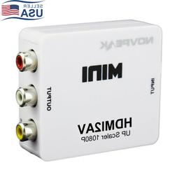 HDMI To AV RCA CVBS 1080P Composite Audio Video Adapter Conv