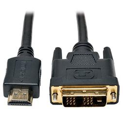 HDMI to DVI Cable, Digital Monitor Adapter Cable  3-ft.