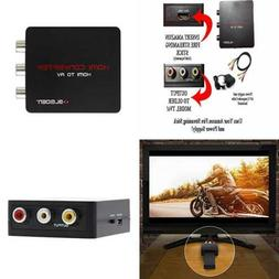 HDMI To Composite AV Converter For Fire Streaming Stick Use