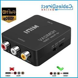 HDMI to RCA Composite Converter Audio Video CVBS AV Adapter