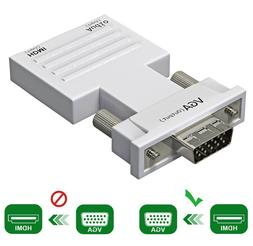 HDMI to VGA Adapter / Converter with Audio Support 1080P Sig