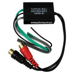 HIGH LOW CONVERTER HI/LO LINE OUTPUT CONVERTER ADD RCAs FOR