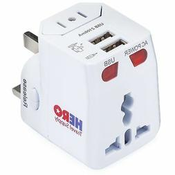 Universal Travel Adapter  - Power Plug for US Europe France