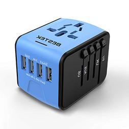 BESTEK International Universal Travel Adapter, Mini Portable