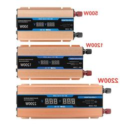 Inverter 500/1200/2200W DC 12V/AC 220V Voltage <font><b>Tran