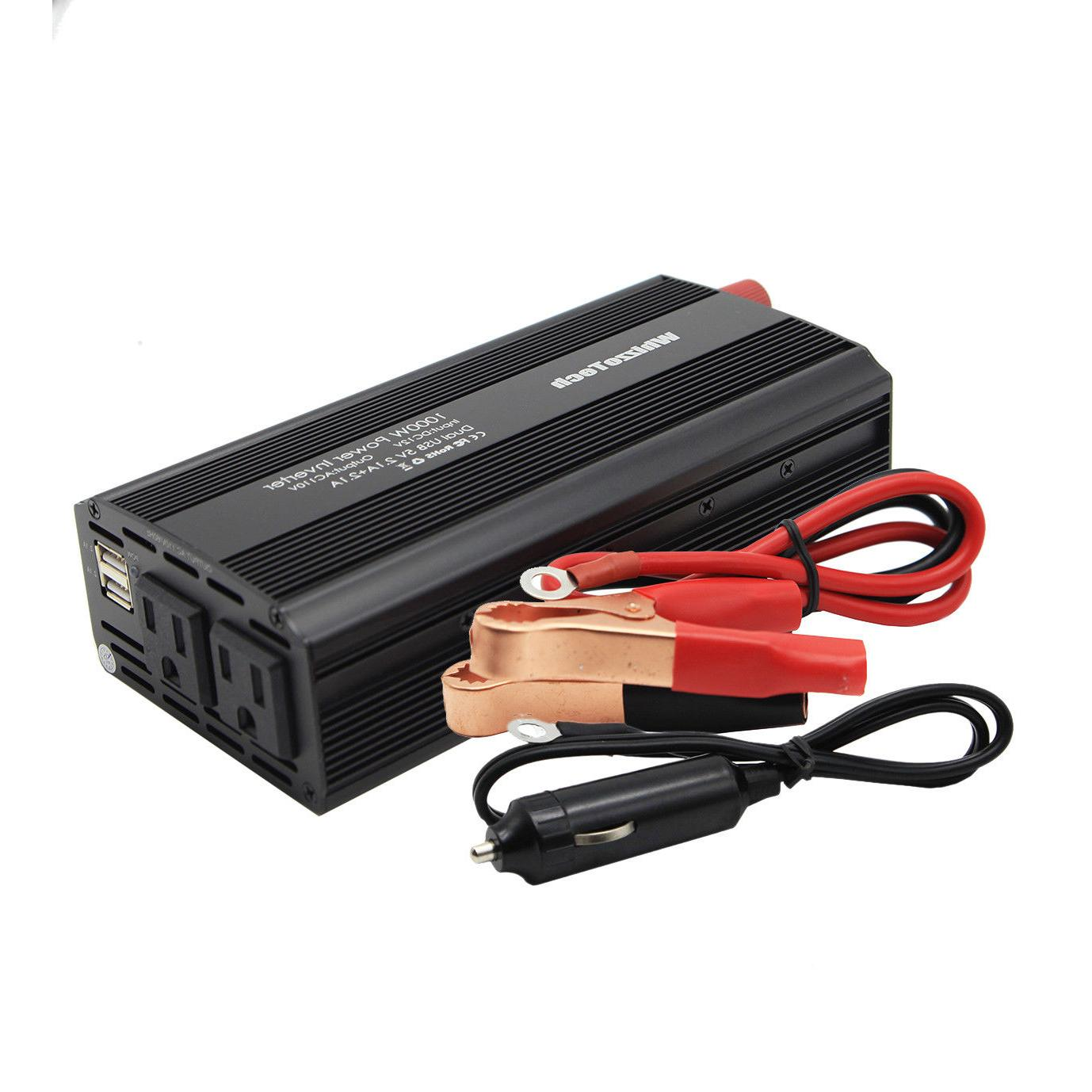1000W Inverter AC 110V Outlets RV Solar