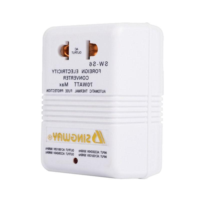 110V & Voltage 70W Watt Transformer Travel White