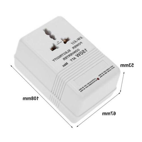 110V Up/Down VOLTAGE CONVERTER 150W Watt TRANSFORMER OK