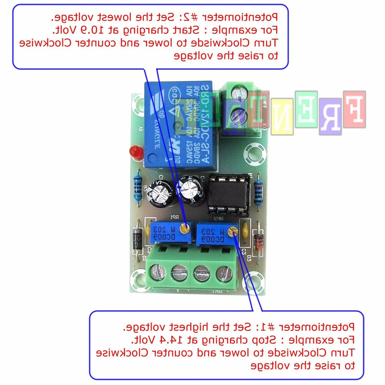 12V Charger Charging Module / Battery Protection Board
