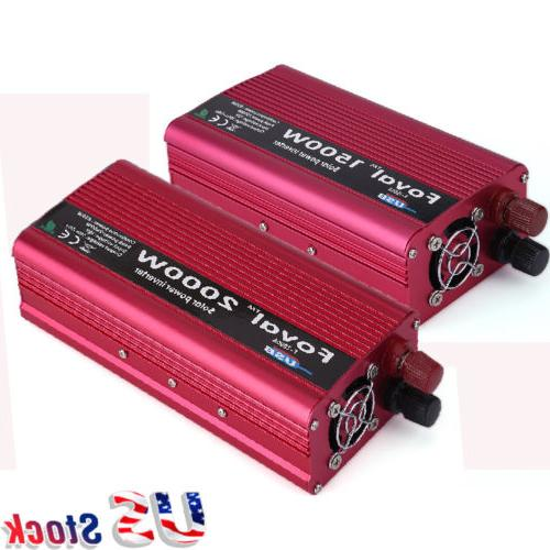 1500/2000W Power Inverter WATT 12V to Converter
