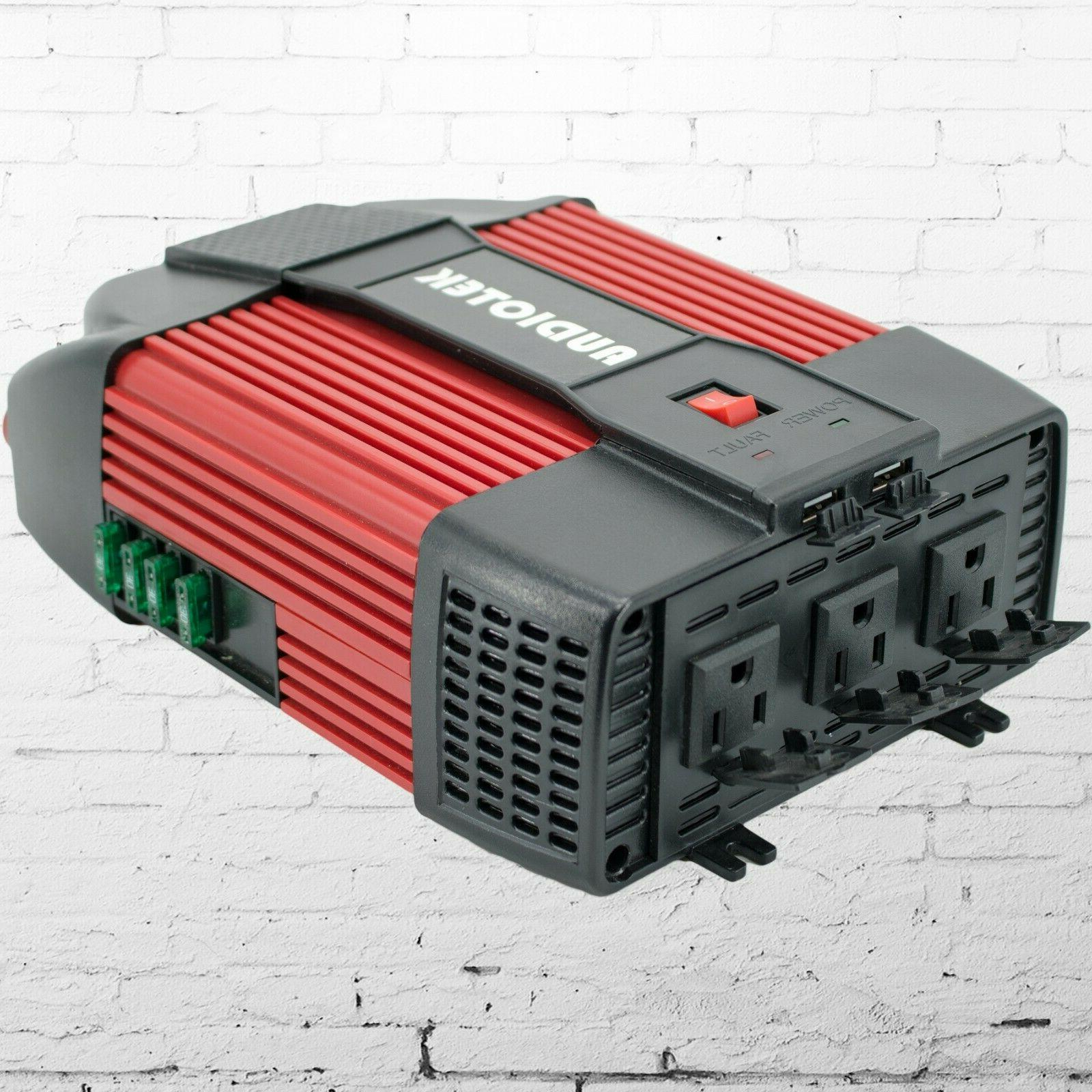 Audiotek Power Inverter 12V 110V port