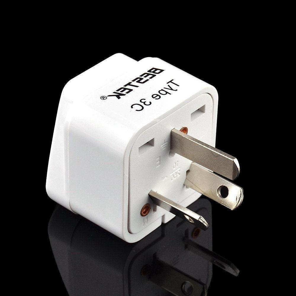 3-Pack to Grounded Plug Power