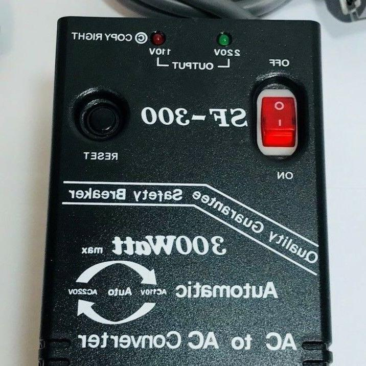 300 Watt Voltage Converter Auto 110 Step