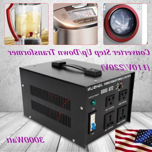 3000w voltage transformer step up and down