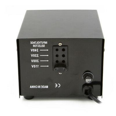 300W Watt 220 Electrical Converter Transformer 220 to 110