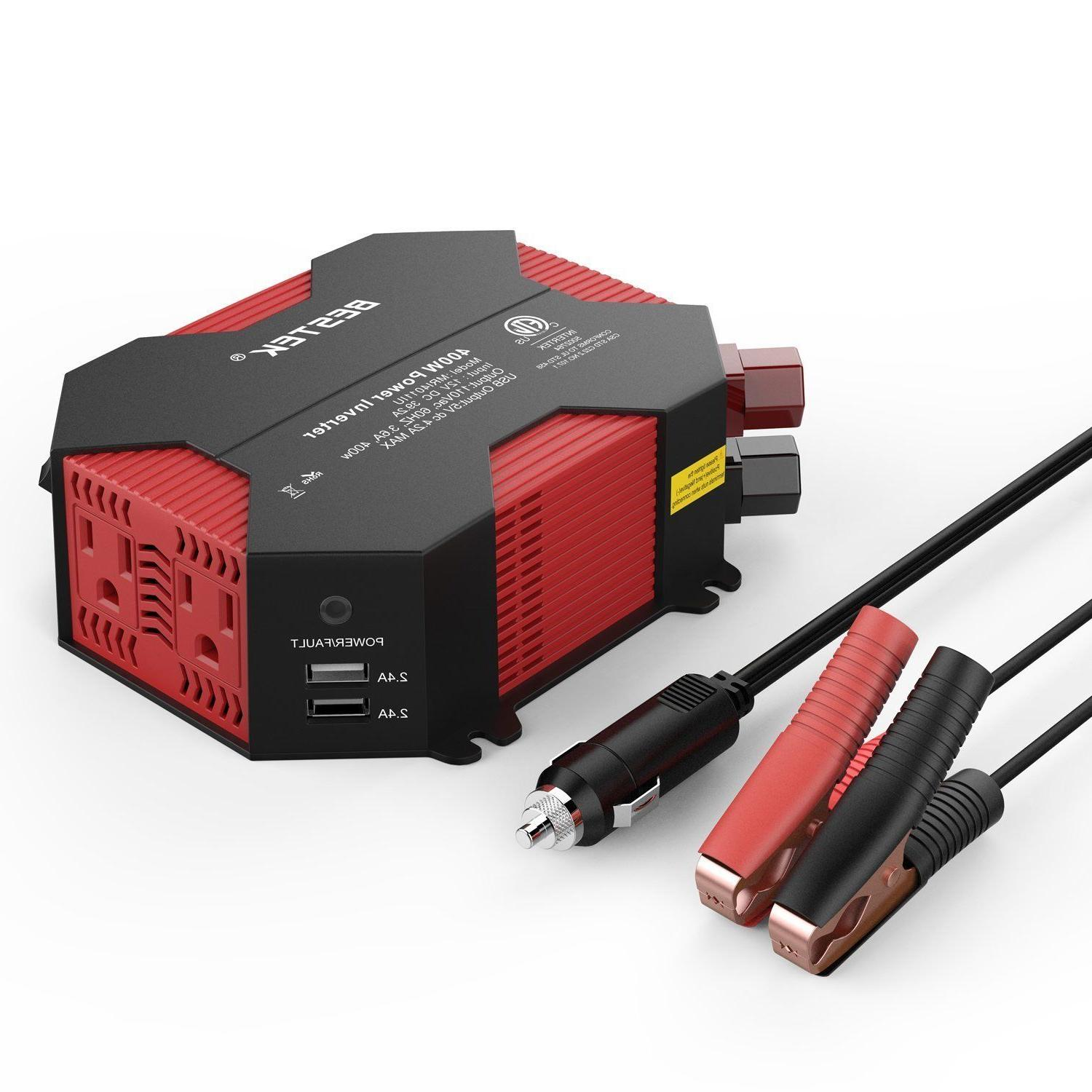 400w watt power inverter dc 12v ac