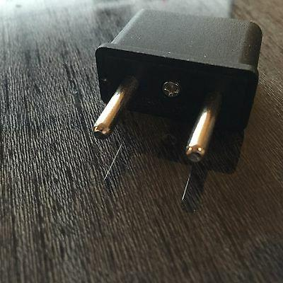 6 Travel US to EU/RU Adapter for Power Adapter