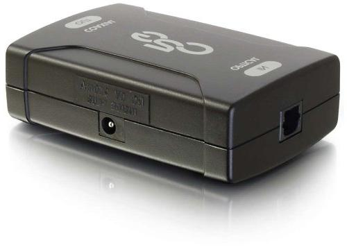 C2G 40019 Optical to Coaxial Digital Audio Converter, TAA Co