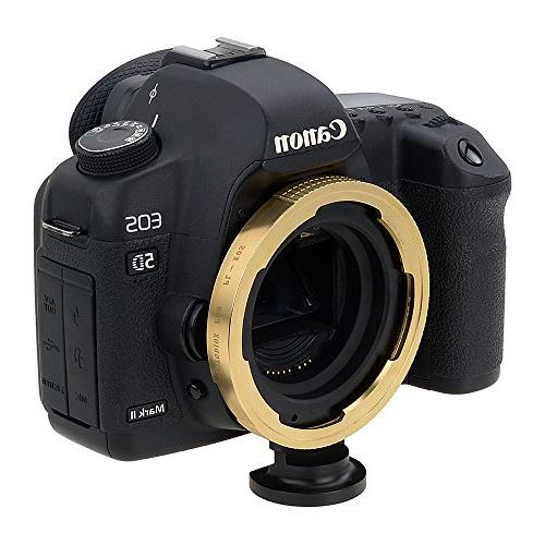 Fotodiox Adapter - PL Mount Lens EOS Mount Body