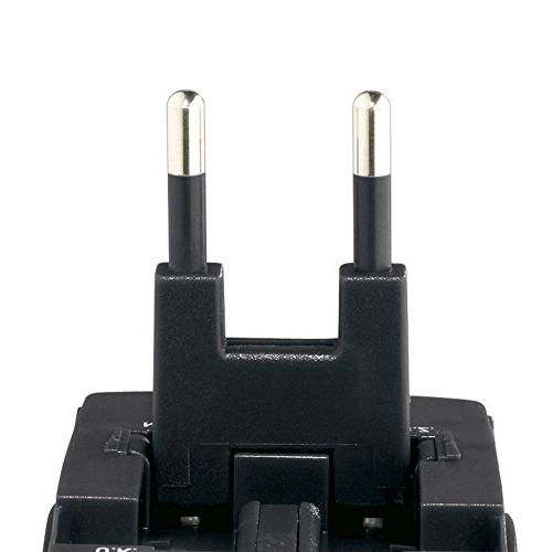 Swiss Gear Luggage Worldwide Adaptor Plug, Black