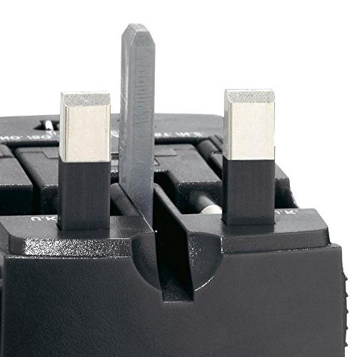 Swiss Gear Worldwide Adaptor Plug, Black