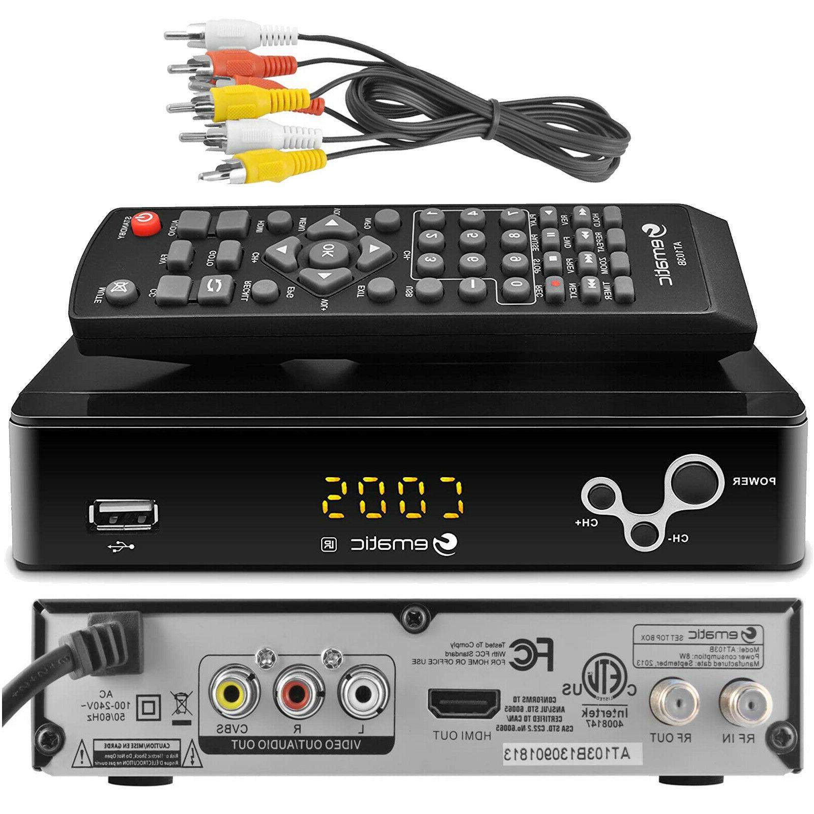 Ematic AT103B Box with Recording, &