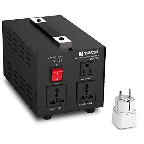 SEYAS Up Voltage 110-120 Volts, Soft Start & Load, Circuit Breaker