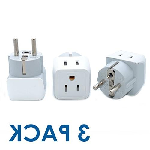 ceptics usa schuko germany france russia travel adapter plug