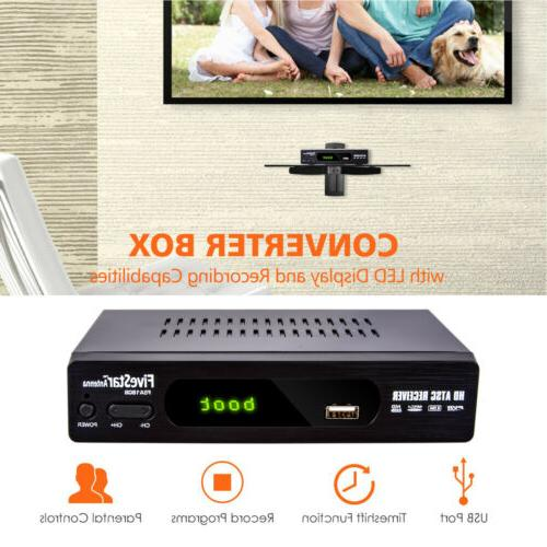 Digital Converter TV w/ for Watching and HD Channels