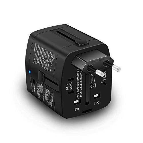 2000W Converter 110V and Travel Adapter Hair Dryer phone Laptop MacBook Plug Europe, UK, Over