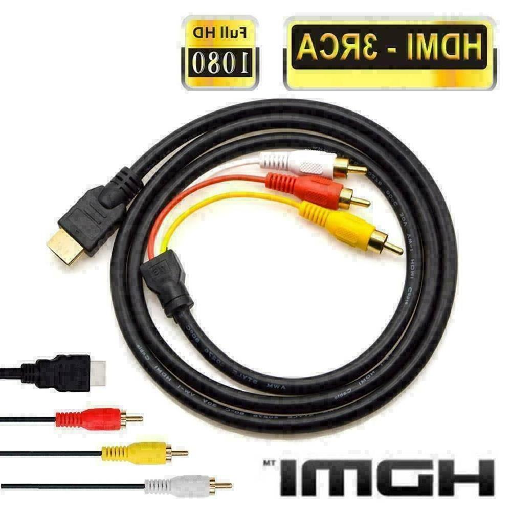 HDMI Male To RCA Component HDTV