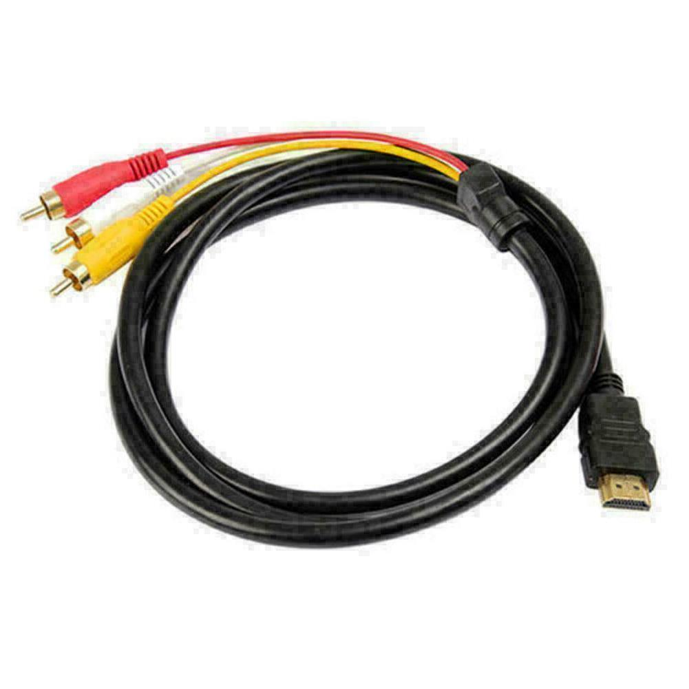 HDMI Male Component Adapter Cable HDTV