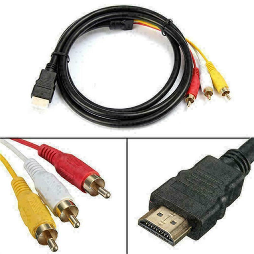 HDMI To RCA Component Adapter HDTV 1080