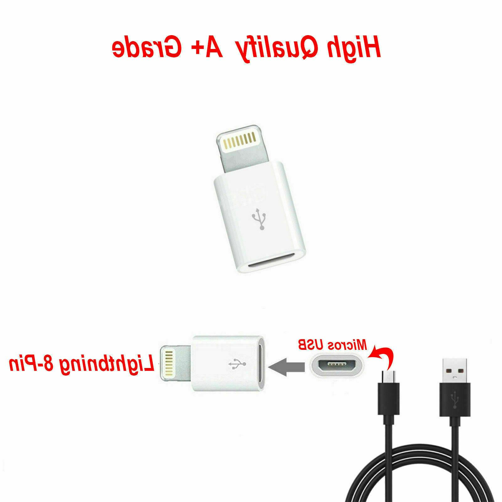 5 USB iphone Adapter Cable charger