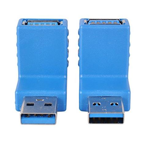 USB 3.0 Couplers, UCEC Multiple Adapters, Include B Mini Use Computer Tablet Mobile Phone, Pack