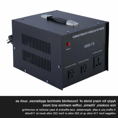 new st 5000 5000 watt voltage converter