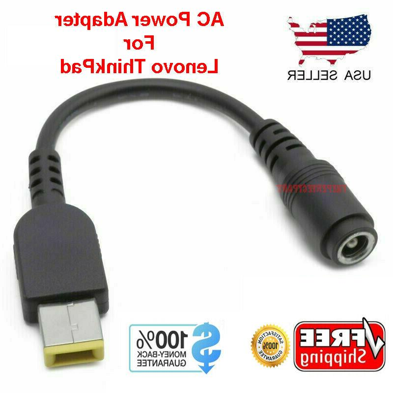 New USB AC Power Charger Adapter Converter Cable for Lenovo