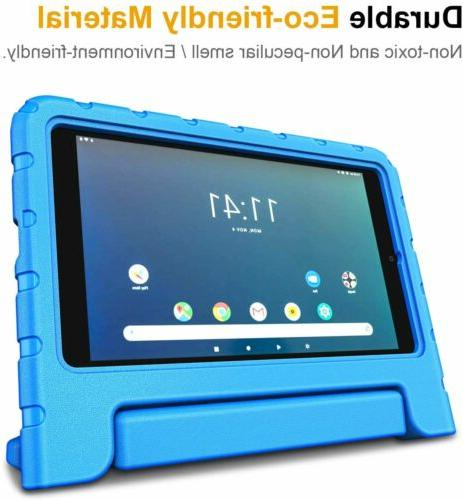 For 8'' Shockproof Case Kids Convertible Stand