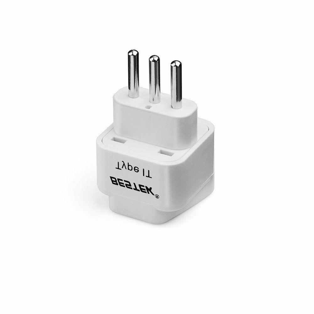 Pack 3 Universal Italy Travel Power Plugs Adapter