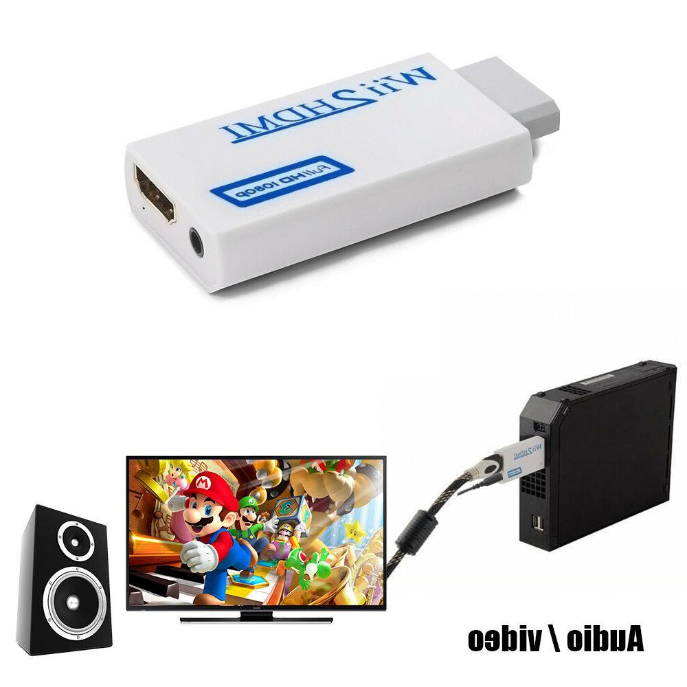 Wii to HDMI Full HD Wii2hdmi 1080P/720P Converter Upscaling