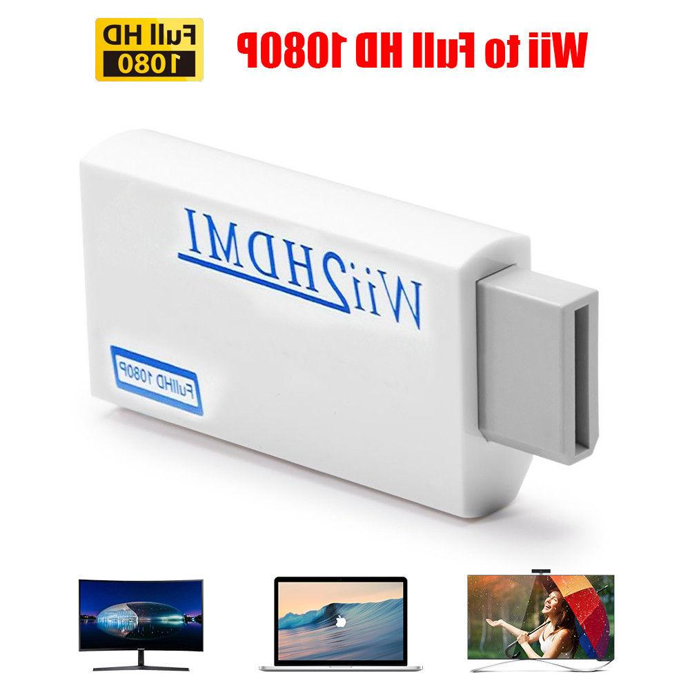 Portable Wii2HDMI Full HD Audio Output