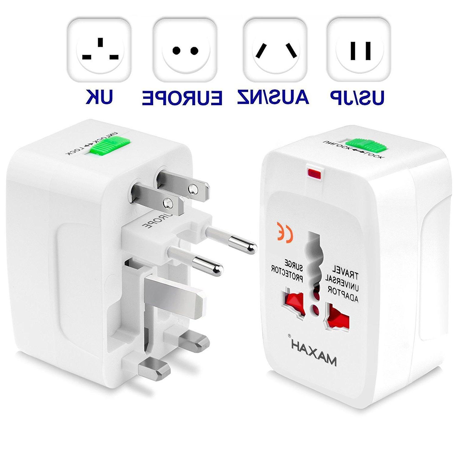 universal all in one power adapter wall