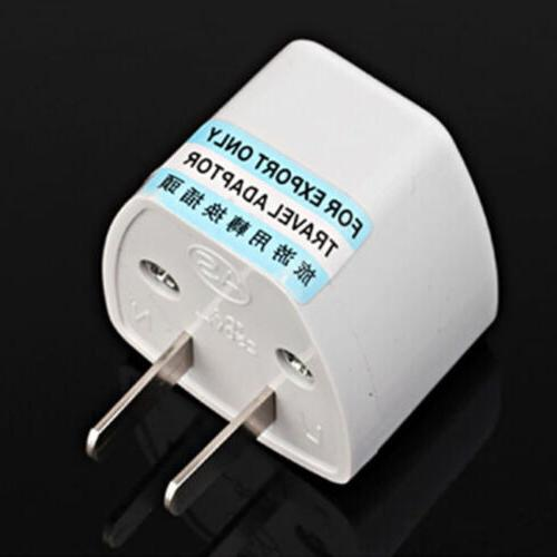 Universal to AC Travel Power Outlet Converter