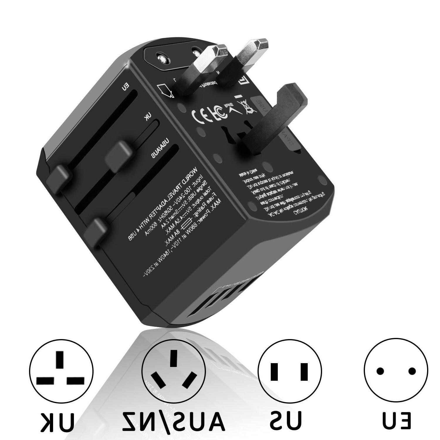 Universal Travel Charger Outlet Plug AU