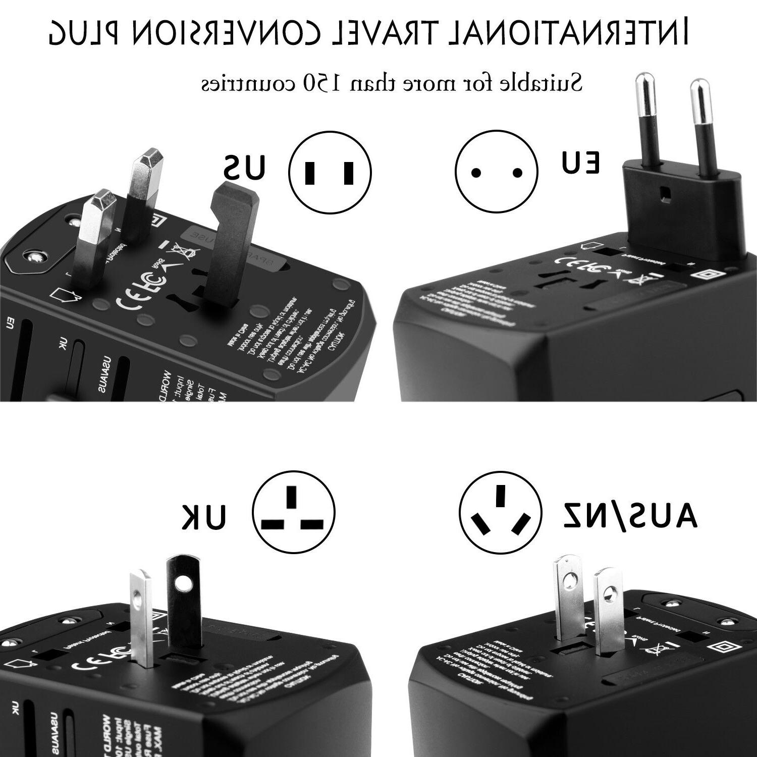 Universal Travel Adapter Charger Outlet AU