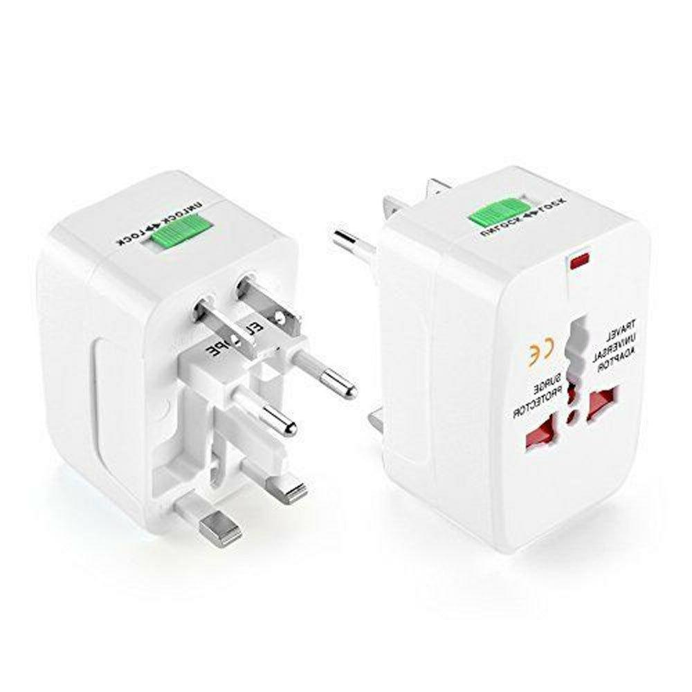 Travel Charger Converter Universal AC Power Socket US to Europe