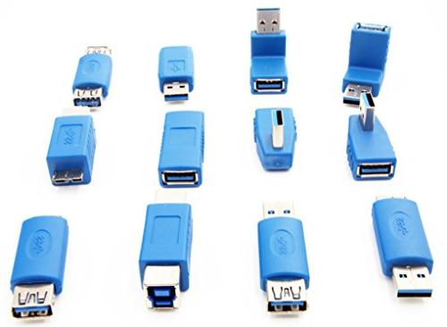 USB Toolkit Type to B Female Adapters